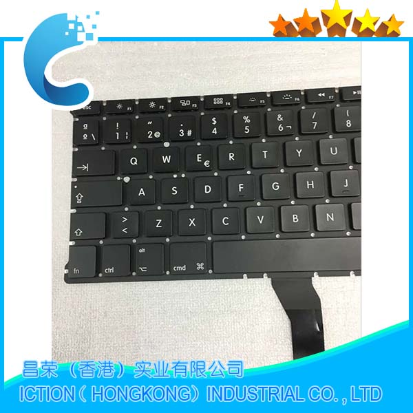 Marka Yeni Macbook Air 13 A1369 A1466 2011 2012 2013 2015 İspanyol SP klavye Teclado